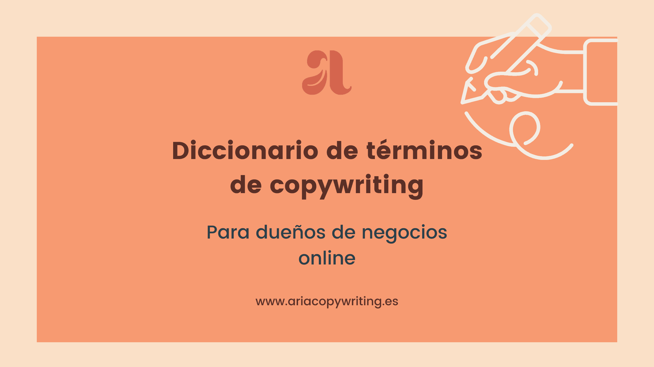 Diccionario de terminos de copywriting 2
