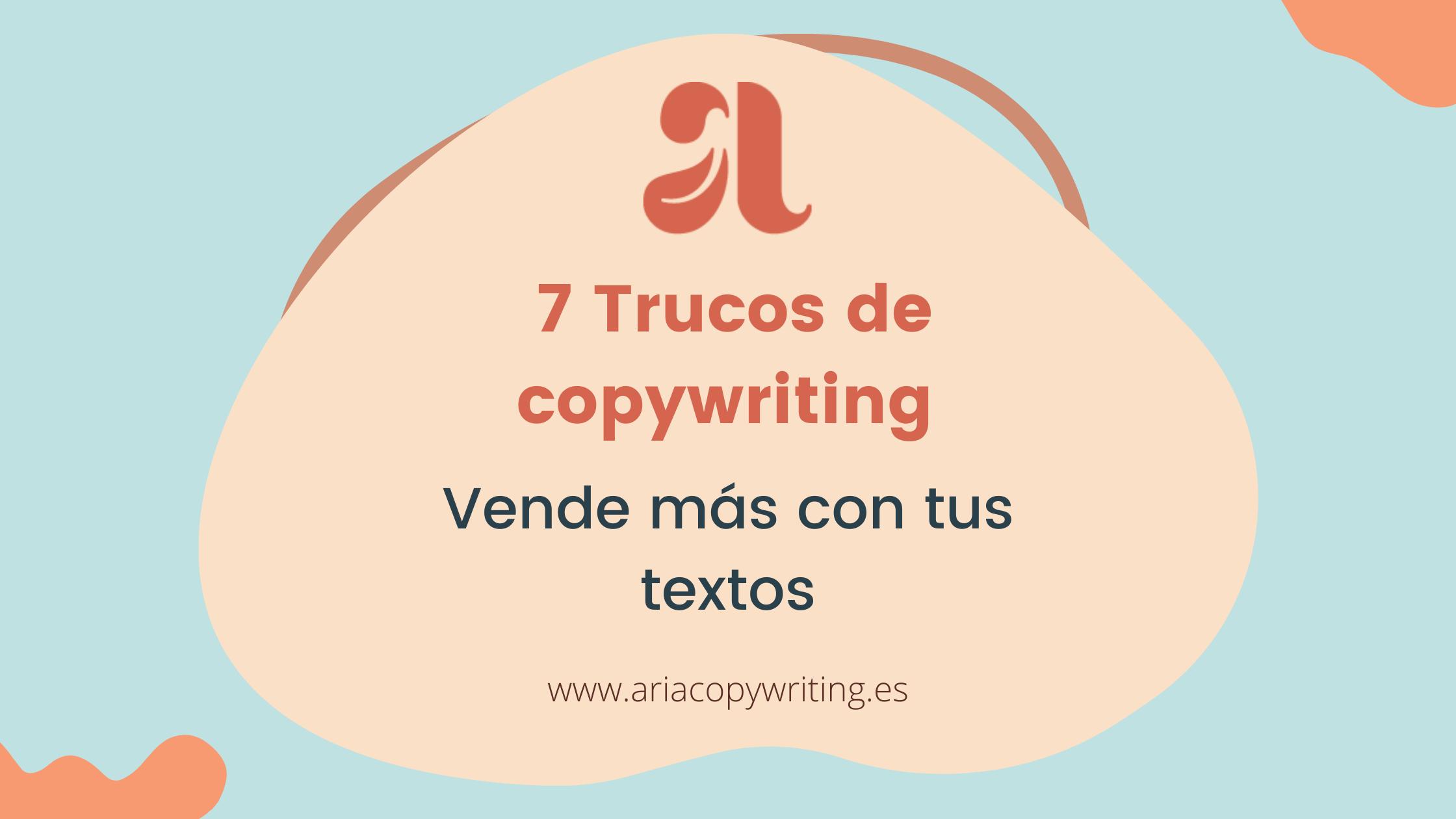 7 Trucos de copywriting para vender mas con tu web